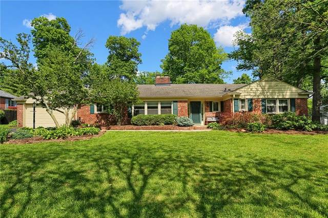 6215 Bramshaw Road, Indianapolis, IN 46220 (MLS #21714644) :: The ORR Home Selling Team