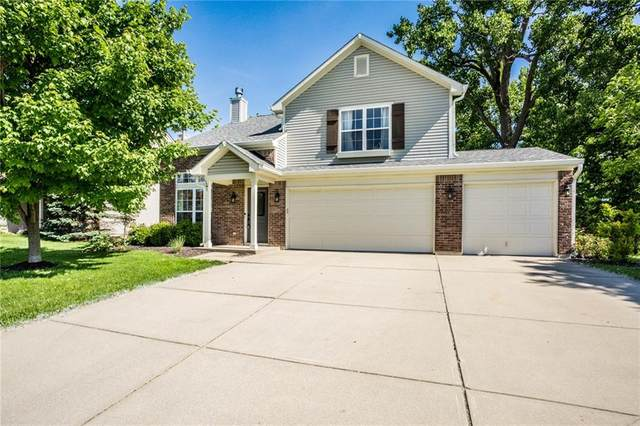3750 Challenger Drive, Westfield, IN 46062 (MLS #21714647) :: The Indy Property Source