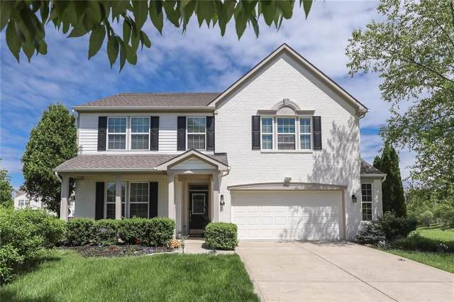 13641 Alvernon Place, Fishers, IN 46038 (MLS #21714755) :: AR/haus Group Realty