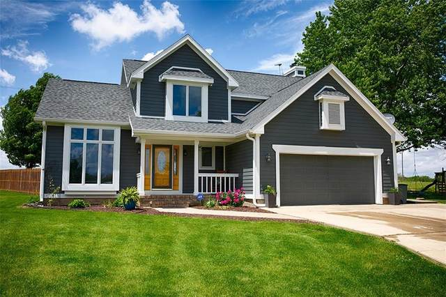 1781 S Connie Drive, Crawfordsville, IN 47933 (MLS #21714769) :: The Indy Property Source