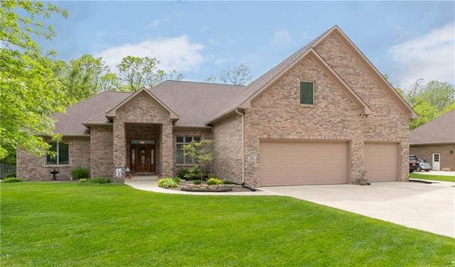 5817 Hickory Hollow Drive, Plainfield, IN 46168 (MLS #21714817) :: The Indy Property Source