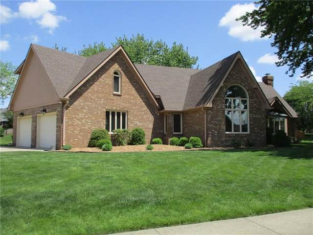 2485 Willow Lake Drive, Greenwood, IN 46143 (MLS #21714833) :: David Brenton's Team