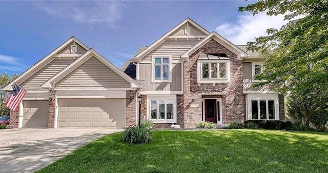 7110 Oakview Circle, Noblesville, IN 46062 (MLS #21714855) :: Mike Price Realty Team - RE/MAX Centerstone