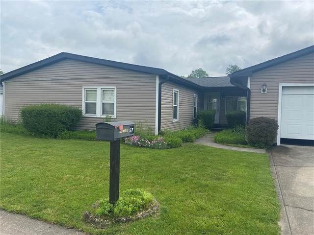 87 Fountain Lake Drive, Greenfield, IN 46140 (MLS #21714861) :: The Indy Property Source