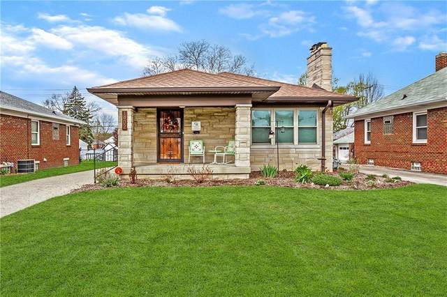 1402 N Hawthorne Lane, Indianapolis, IN 46219 (MLS #21714876) :: Mike Price Realty Team - RE/MAX Centerstone