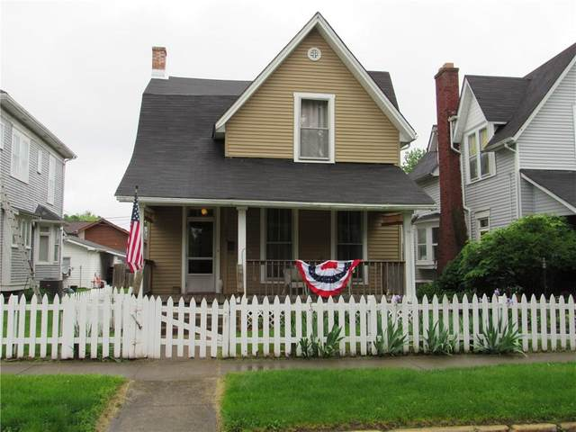 1033 Franklin Street, Columbus, IN 47201 (MLS #21714926) :: The Indy Property Source