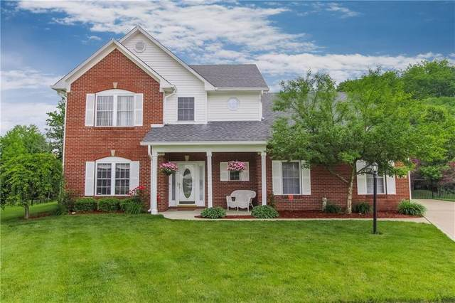 8204 Stoney Bend Circle, Indianapolis, IN 46259 (MLS #21714982) :: The Indy Property Source