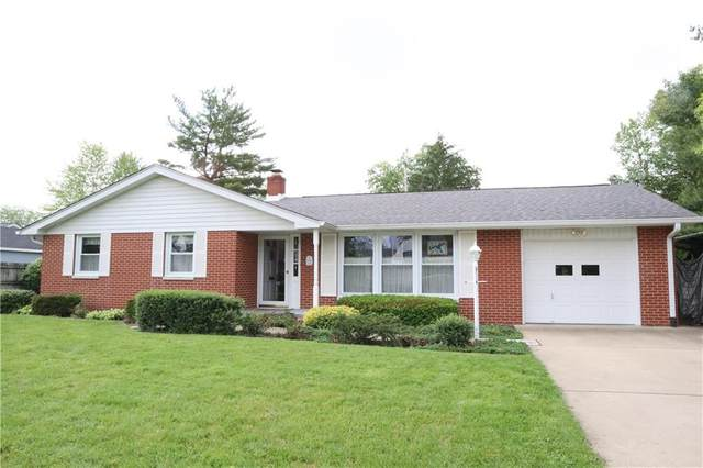 1601 Audubon Drive, Columbus, IN 47203 (MLS #21715018) :: The Indy Property Source