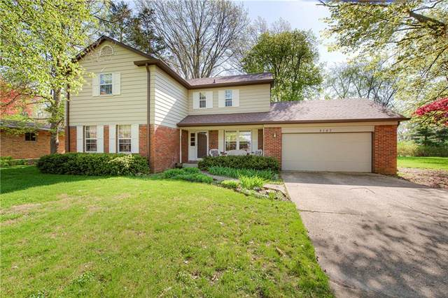 8147 Hoover Lane, Indianapolis, IN 46260 (MLS #21715044) :: The Indy Property Source