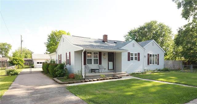 2609 13th Street, Columbus, IN 47201 (MLS #21715102) :: The Indy Property Source