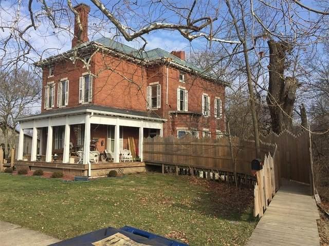 203 N College Avenue, Greencastle, IN 46135 (MLS #21715180) :: The ORR Home Selling Team