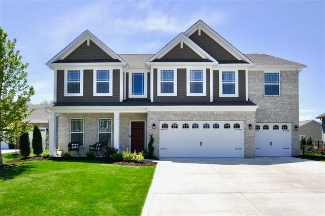 1217 Crosswater Way, Westfield, IN 46074 (MLS #21715195) :: Richwine Elite Group