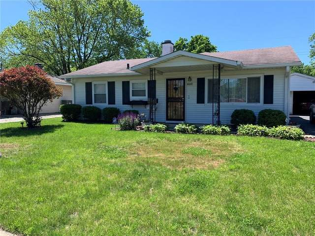 4025 Thrush Drive, Indianapolis, IN 46222 (MLS #21715237) :: The ORR Home Selling Team