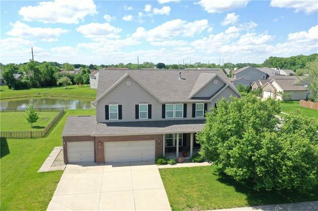 8318 Balmoral Lane, Avon, IN 46123 (MLS #21715242) :: The Indy Property Source