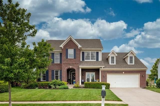 1060 Bridgeport Drive, Westfield, IN 46074 (MLS #21715393) :: The Indy Property Source
