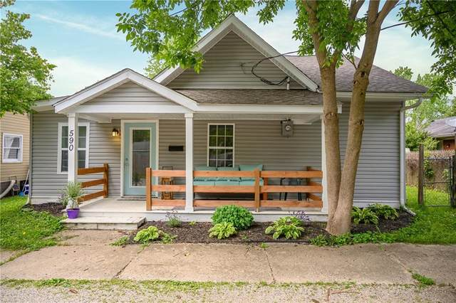590 Ohio Street, Franklin, IN 46131 (MLS #21715472) :: The Indy Property Source