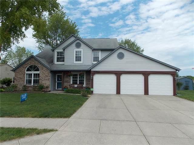 8252 Portside Drive, Avon, IN 46123 (MLS #21715503) :: The Indy Property Source