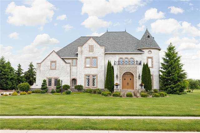 7850 Cheval Rue Court, Zionsville, IN 46077 (MLS #21715513) :: The Indy Property Source