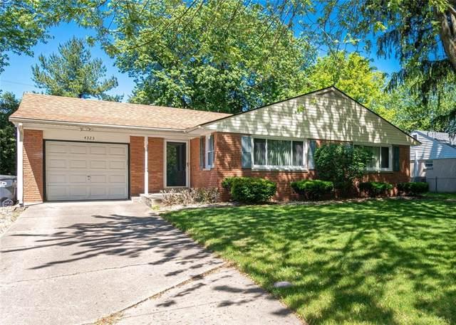 4323 Kevon Drive, Anderson, IN 46013 (MLS #21715643) :: Corbett & Company