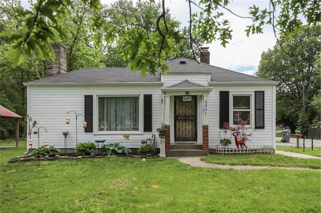 4401 Millersville Road, Indianapolis, IN 46205 (MLS #21715667) :: AR/haus Group Realty
