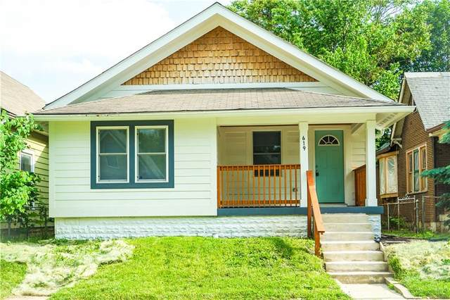 619 Lincoln Street, Indianapolis, IN 46203 (MLS #21715731) :: Richwine Elite Group