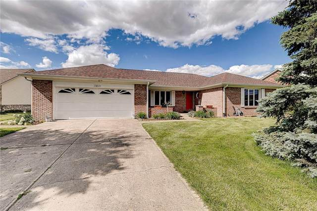 2160 W Liberty Lane, Greenfield, IN 46140 (MLS #21715745) :: Richwine Elite Group