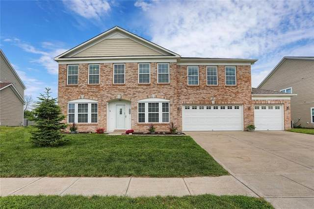 609 Fireside Drive, Greenwood, IN 46143 (MLS #21715775) :: Heard Real Estate Team   eXp Realty, LLC