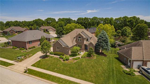 169 Hazy Lane, Greenwood, IN 46142 (MLS #21715858) :: Mike Price Realty Team - RE/MAX Centerstone