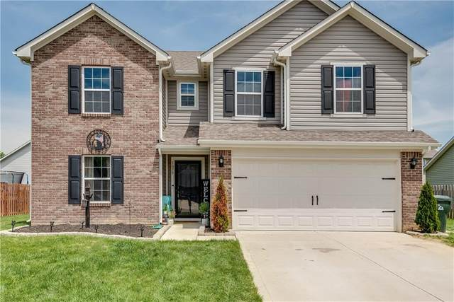 1079 W Limestone Way, Fortville, IN 46040 (MLS #21715868) :: Richwine Elite Group