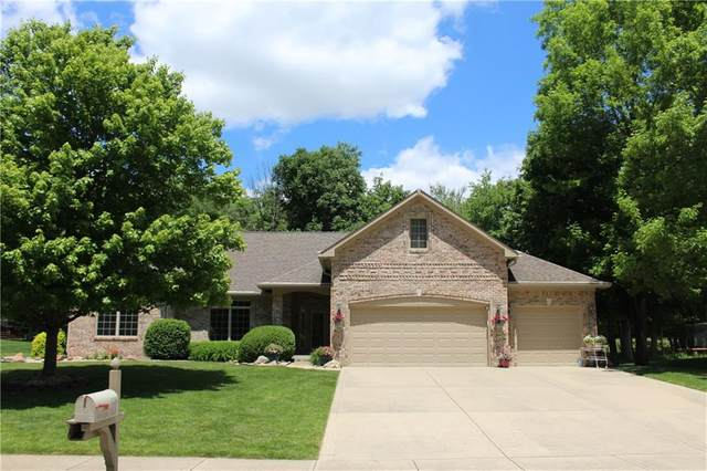 128 Wagon Trail, Mooresville, IN 46158 (MLS #21715922) :: The Indy Property Source