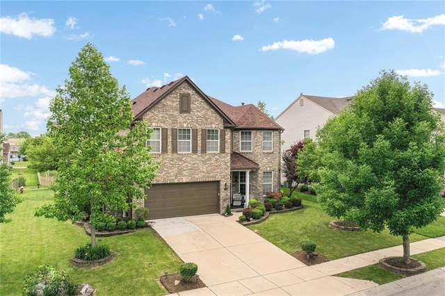 11129 Sanders Drive, Fishers, IN 46038 (MLS #21715925) :: Anthony Robinson & AMR Real Estate Group LLC