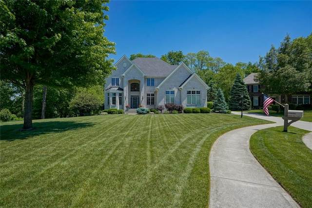 10806 Harbor Bay Court, Fishers, IN 46040 (MLS #21716021) :: Richwine Elite Group