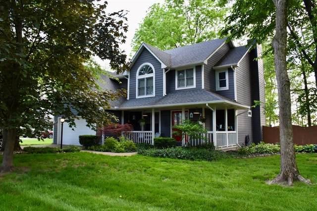 5722 N Red Oak Drive, Greenfield, IN 46140 (MLS #21716029) :: Richwine Elite Group