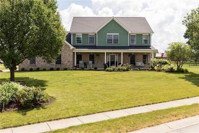 3819 S Cedar Creek Way, New Palestine, IN 46163 (MLS #21716052) :: The Indy Property Source