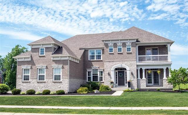 2512 Wood Hollow Trail, Zionsville, IN 46077 (MLS #21716255) :: Mike Price Realty Team - RE/MAX Centerstone