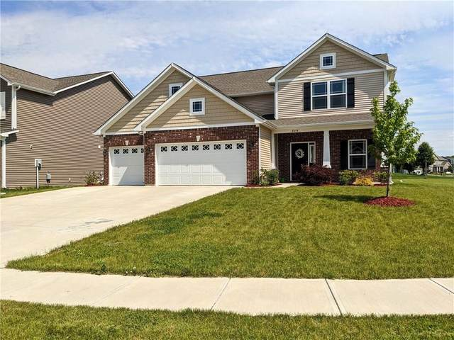 8694 Thatcher Lane, Avon, IN 46123 (MLS #21716262) :: HergGroup Indianapolis