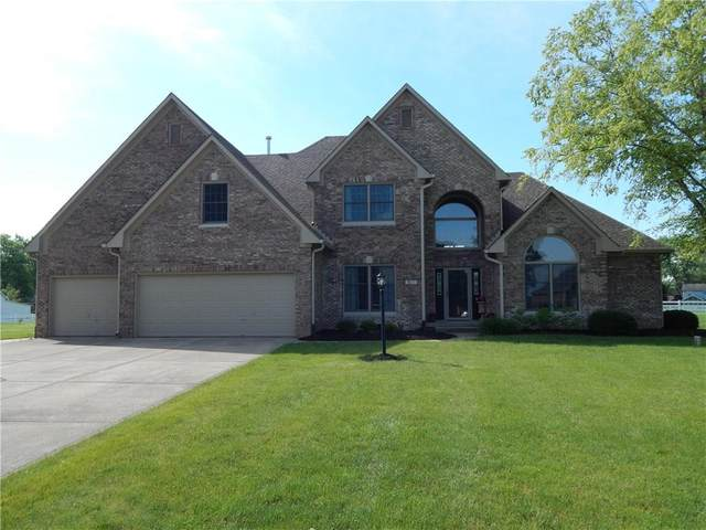 1695 E Casey Lane, Greenfield, IN 46140 (MLS #21716288) :: The Indy Property Source