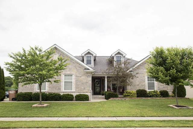 4661 Clairmont Dr, Columbus, IN 47203 (MLS #21716309) :: The Indy Property Source