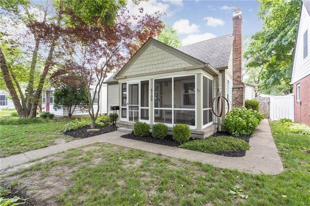 6109 Indianola Avenue, Indianapolis, IN 46220 (MLS #21716318) :: Anthony Robinson & AMR Real Estate Group LLC