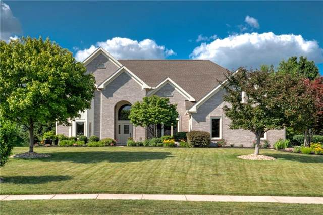 7532 Peach Blossom Place, Indianapolis, IN 46254 (MLS #21716345) :: The Indy Property Source