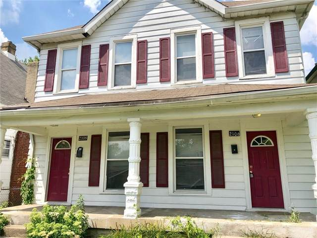 2108 Singleton Street, Indianapolis, IN 46203 (MLS #21716406) :: Anthony Robinson & AMR Real Estate Group LLC