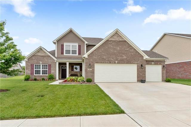 3311 S Courtney Drive, New Palestine, IN 46163 (MLS #21716456) :: The Indy Property Source