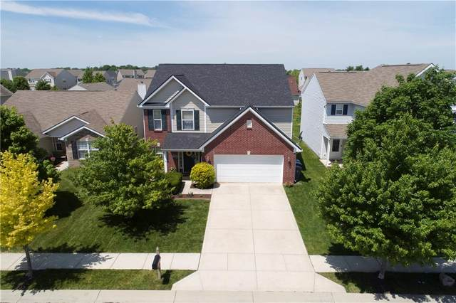 15503 Old Pond Circle, Noblesville, IN 46060 (MLS #21716471) :: The Indy Property Source