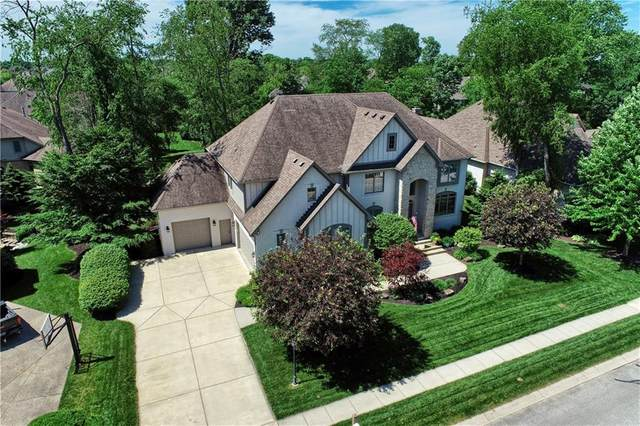 11016 Harbor Bay Drive, Fishers, IN 46040 (MLS #21716493) :: Anthony Robinson & AMR Real Estate Group LLC