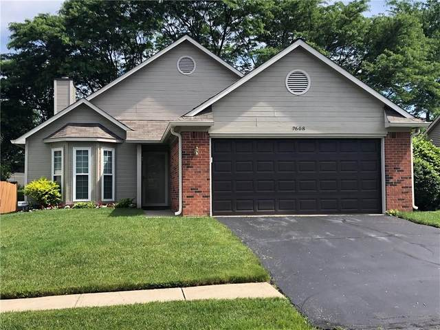 7608 Trophy Club Drive S, Indianapolis, IN 46214 (MLS #21716495) :: Mike Price Realty Team - RE/MAX Centerstone
