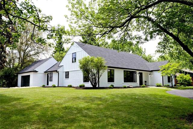 129 Pine Drive, Indianapolis, IN 46260 (MLS #21716519) :: Mike Price Realty Team - RE/MAX Centerstone