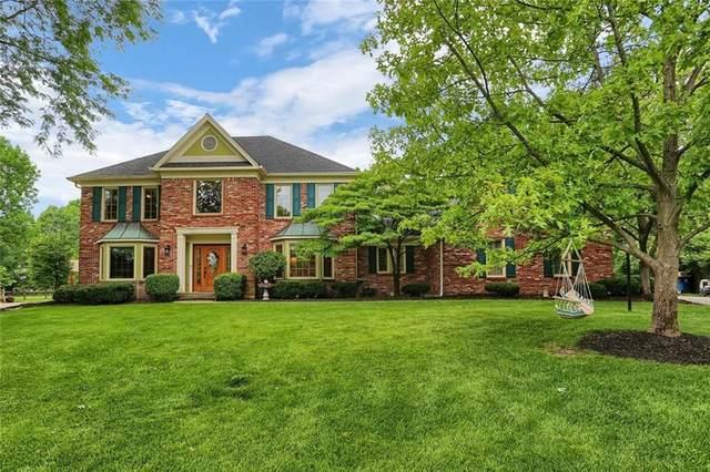 761 Arrowwood Drive, Carmel, IN 46033 (MLS #21716522) :: The Indy Property Source