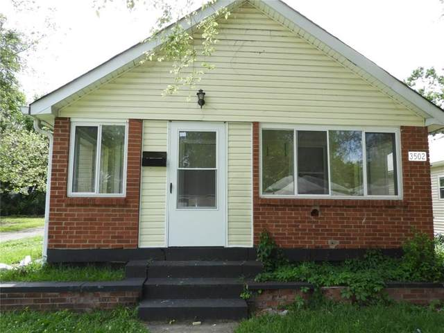 3502 Brouse Avenue, Indianapolis, IN 46218 (MLS #21716534) :: Mike Price Realty Team - RE/MAX Centerstone