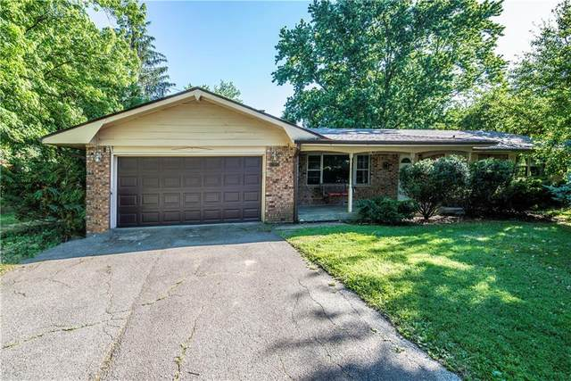 7414 Maplewood Drive, Indianapolis, IN 46227 (MLS #21716574) :: The Indy Property Source