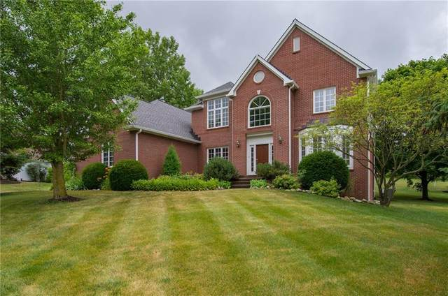 6607 Greenridge Drive, Indianapolis, IN 46278 (MLS #21716621) :: David Brenton's Team